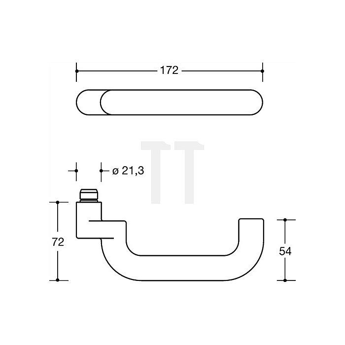 Feuerschutz-Grt.114.23gkR/315.23R/316RFS PZ VK9mm TS68,1-78mm kaffebraun