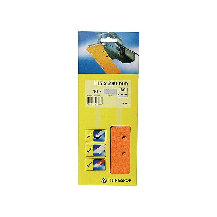 Finishingpapier PL 31 B.93xL.230mm K.120 ungelocht Streifen