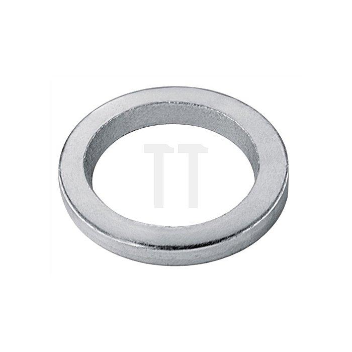 Fitschenring Innen-D. 10mm Außen-D. 15mm Stärke 2mm vermessingt gestanzt