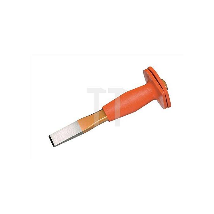 Flachmeißel 250mm flach-oval m.Handschutz extra schlanke Form