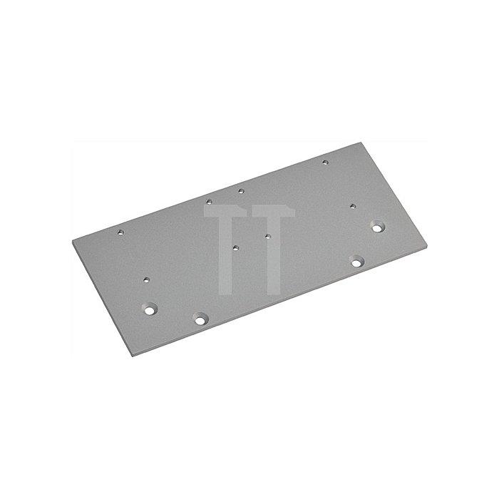 Flachplatte zu TS 83/TS 73 V silberfarbig
