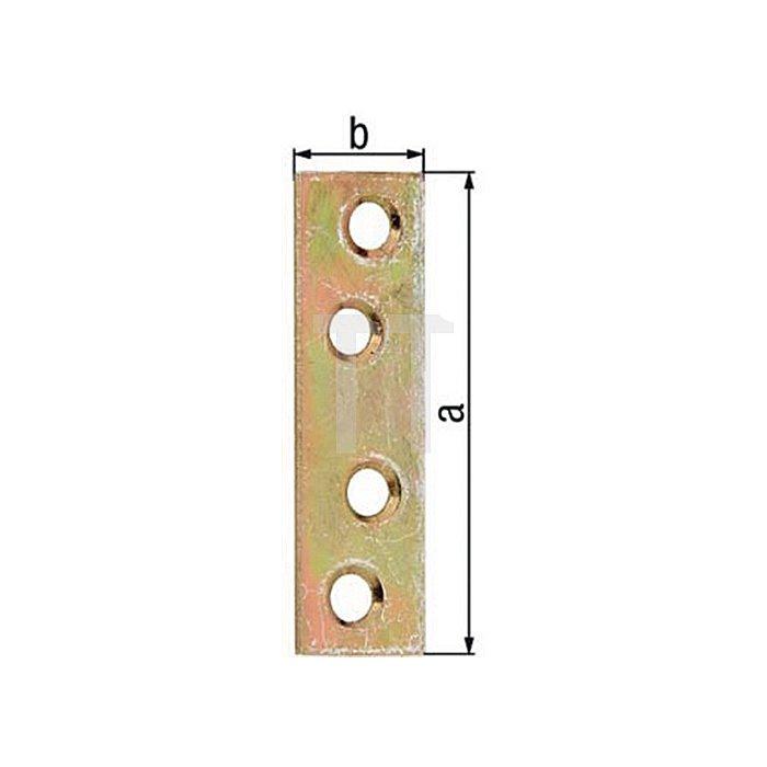 Flachverbinder 100x15mm VA GAH