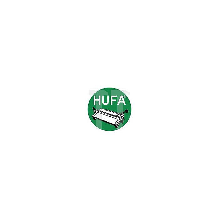 Fliesenfeile HUFA L. 270mm halbrund HM-beschichtet
