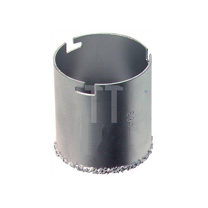 Fliesenlochbohrkrone DBGM HM D.63mm o.Aufnahme/Bohrer SB-verpackt