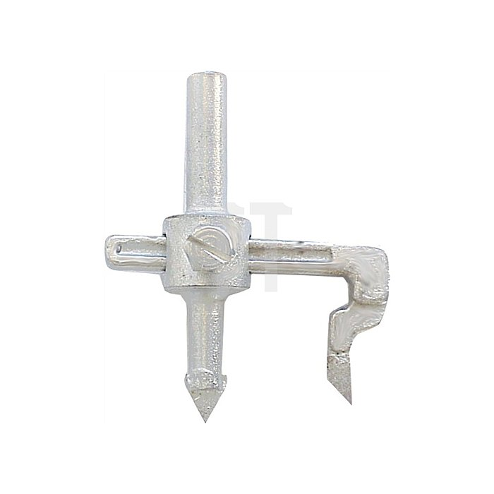 Fliesenlochschneider Schaft-D.9mm 30-80mm JOKOSIT