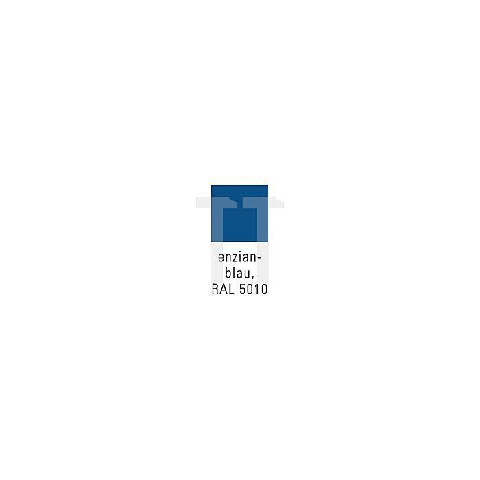 Flügeltürenschrank H1950xB950xT420 m.Sichtfenster 4 Böden 80kg lichtgrau/blau