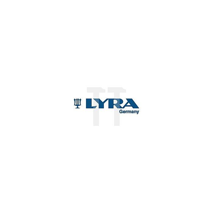 Förster/Sign.Kreide rot L.120mm D.12mm 6eckig papiert LYRA 12St./Paket