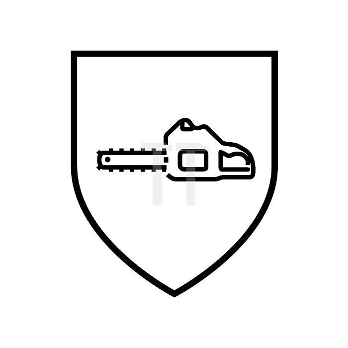 Forstschutzlatzhose Gr.50/52 grün/orange reißfest wasserabweisend