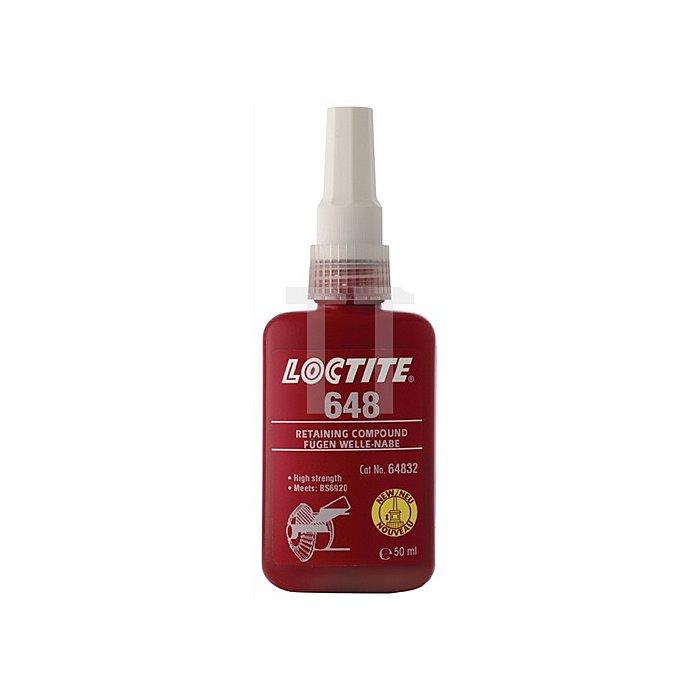 Fügekleber Loctite 648 50ml Flasche LOCTITE