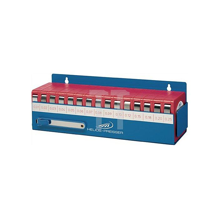 Fühlerlehrenbandset 0,01-0,25mm L.5m B.13mm