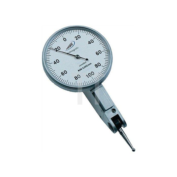 Fühlhebelmessgerät DIN2270 -0,1 bis +0,1mm Aussenring 40,5mm Ablesung 0,002mm
