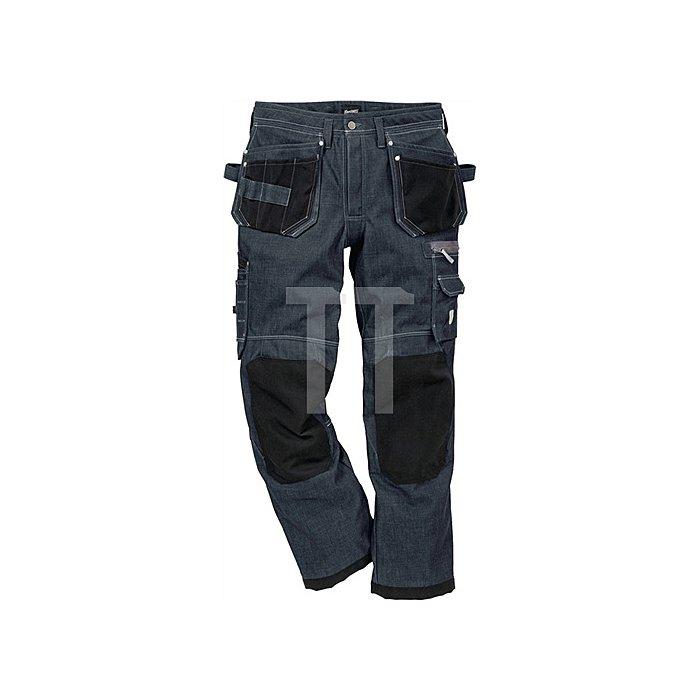 Funktions-Jeans Gr.C56 denimblau, 100% Baumwolle