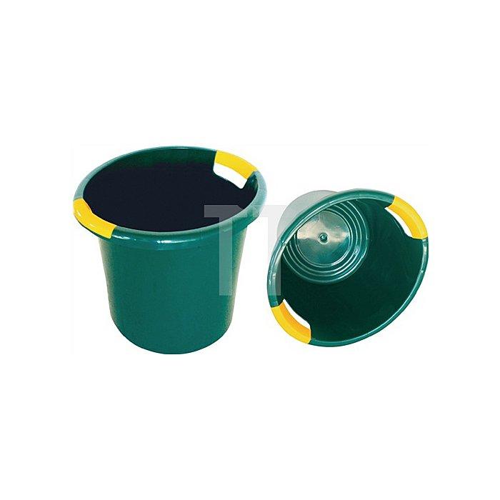 Gartenuniversalbehälter aus hochwertigem PE ca. 45 l grün/gelb
