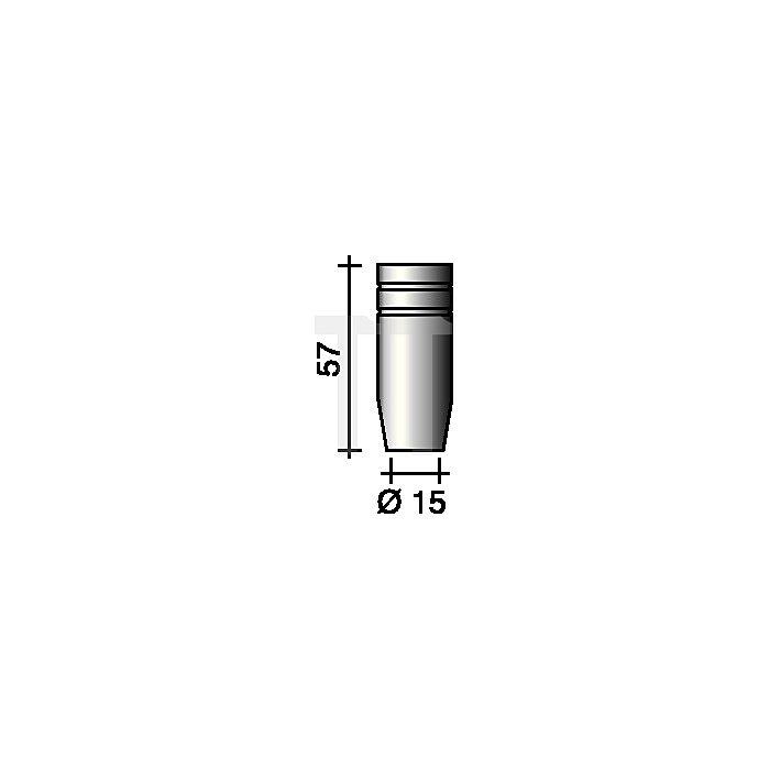 Gasdüse konisch Nennweite 15mm für Ergoplus 15