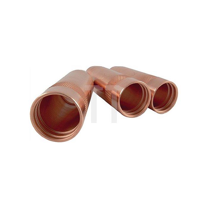 Gasdüse zylindrisch Nenn-W. 19,0mm