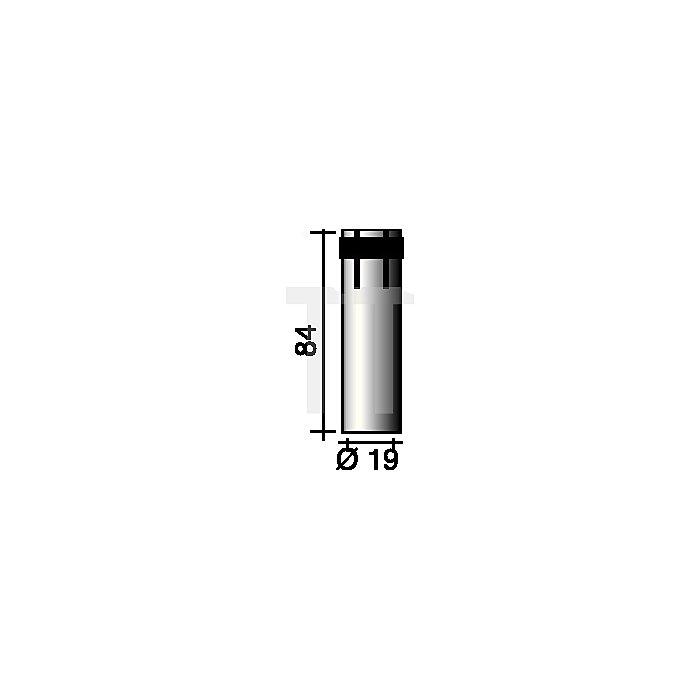 Gasdüse zylindrisch, steckbar Nennweite 19,0mm für Ergoplus 36