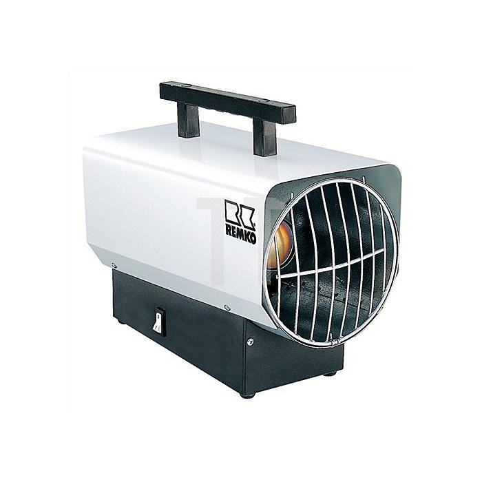 Gasheizer PG Anschlussdruck 1,5bar Gewicht 12kg Flüssiggas L450xB260xH410mm