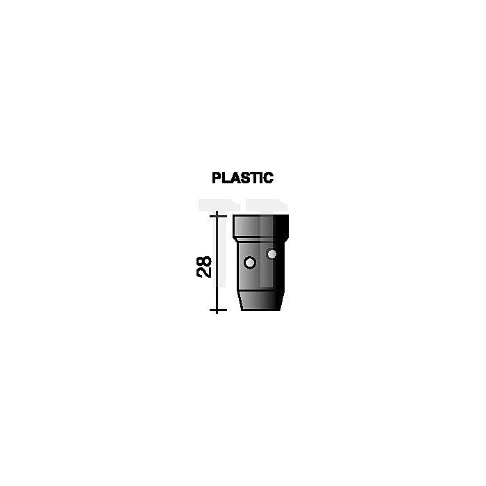 Gasverteiler Standard, schwarz für Ergoplus 400/500