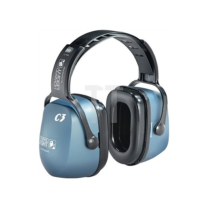 Gehörschutz ClarityC3 f.Tieffrequenz EN352-1 Muschel blau SNR33dB HOWARD LEIGHT