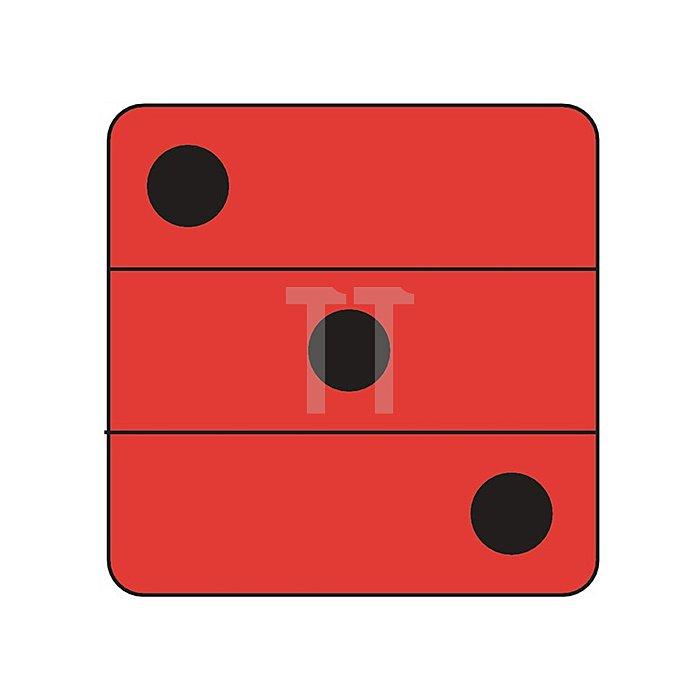 Gehörschutzkapsel X3A Kapsel schwarz/rot 3M Peltor SNR 33 dB