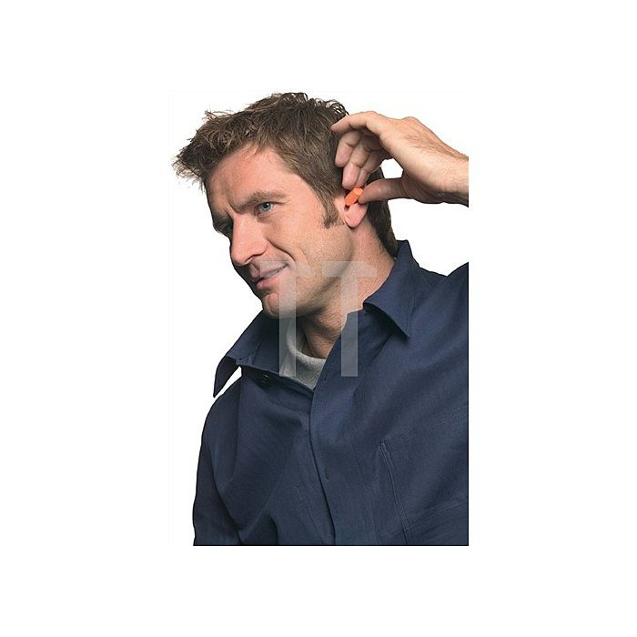 Gehörschutzstöpsel 1100 Eing SNR=37db,Schaumstoff 200Paar/Box konisch geformt 3M