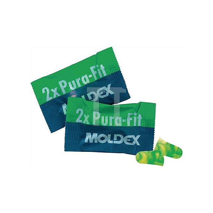 Gehörschutzstöpsel PuraFit 7700 1Paar/Beutel MOLDEX grün/gelb 200Paar/VE