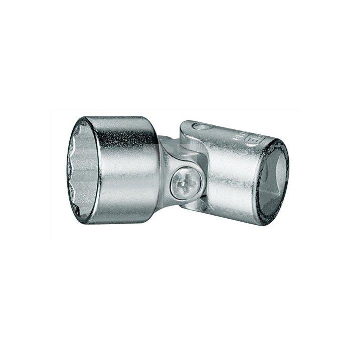 Gelenk-Steckschlüsseleins atz 3/8Zoll UD-Profil 18mm
