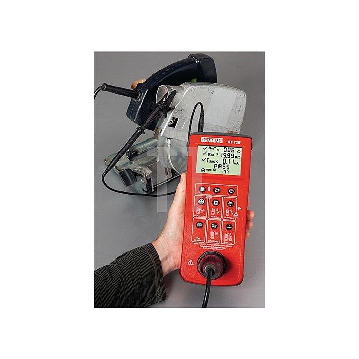 Gerätetester Batterie-/Netzbetrieb inkl. Tasche/Batterien