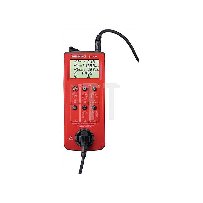Gerätetester ST 720 zur sicherheitstechnischen Prüfung von elektrischen Geräten