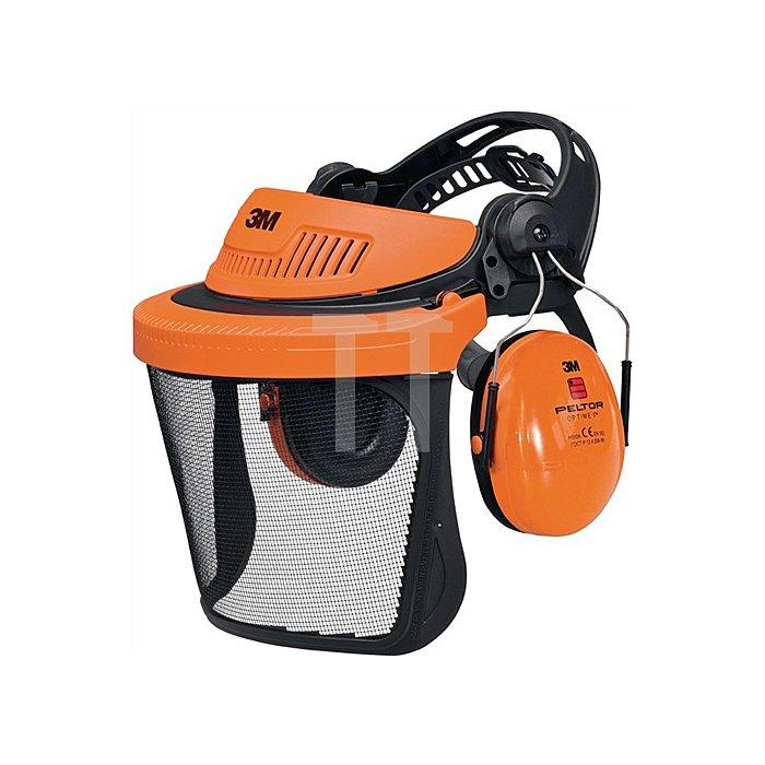Gesichts-/Gehörschutz Kombination G5V5CH51 orange SNR 26dB PELTOR EN352-1/3