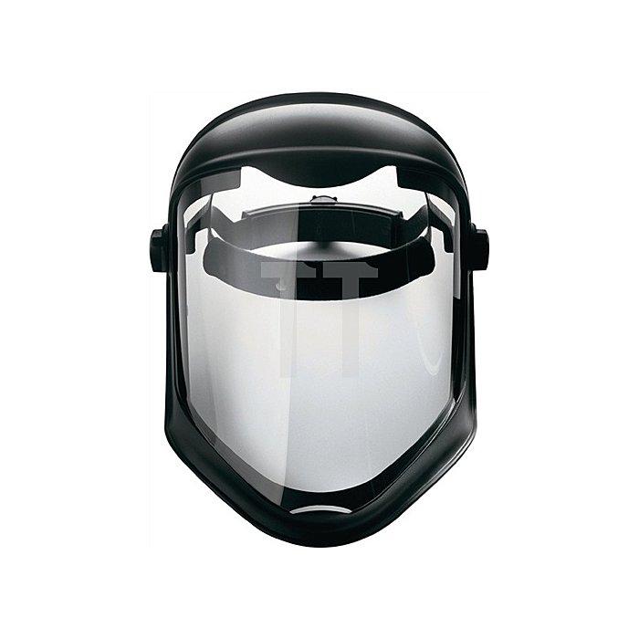 Gesichtsschutzschirm Bionic EN166 m. PC-Scheibe klar