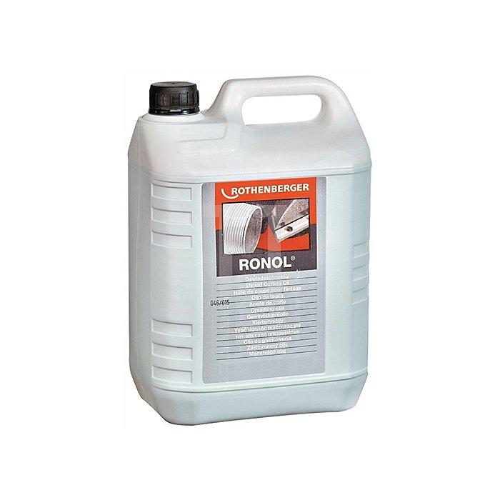 Gewindeschneidöl RONOL® Inhalt 5000 ml 4 Kanister im Karton Rothenberger