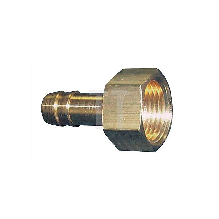 Gewindetülle G1/4Zoll Schlauch-W.6mm m.IG.