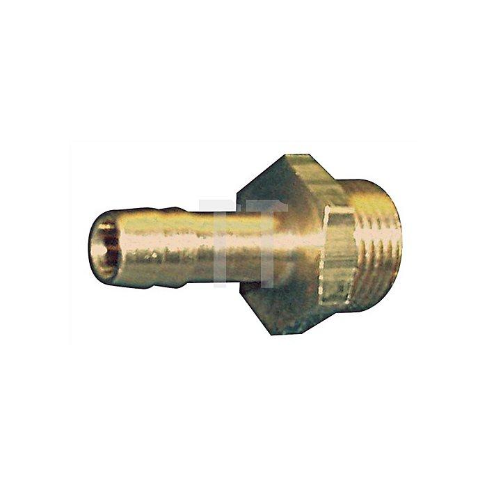 Gewindetülle G3/8Zoll Schlauch-W.6mm m.AG.