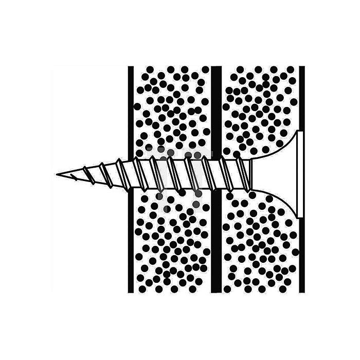 Gips auf Gips-Schraube GGS 5,0 X 38