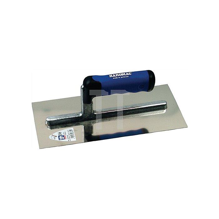 Glättekelle L.305mm B.120mm S.0,6mm Blatt rostf. Stahl mit Softgriff