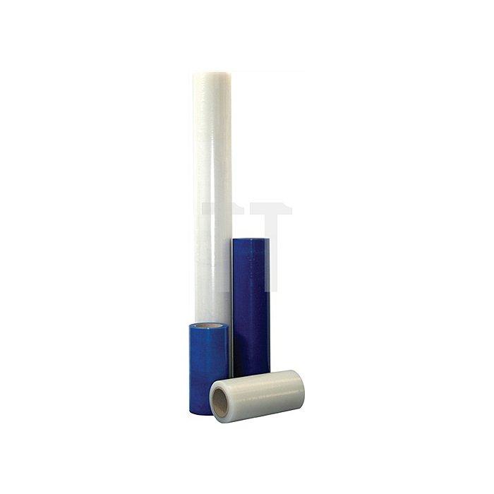 Glasschutzfolie 100m x500mm blau-transparent