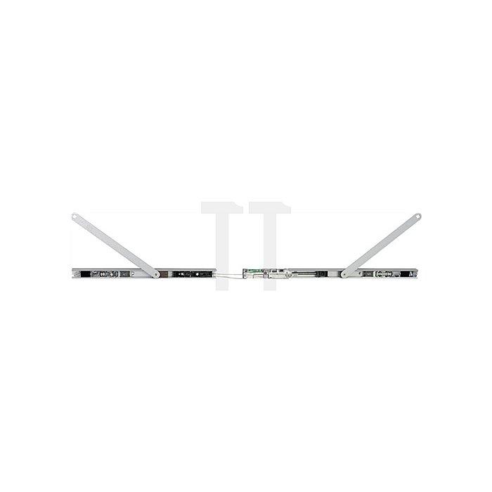 Gleitschiene Boxer ISM mit elektromechanischer Feststellung silber