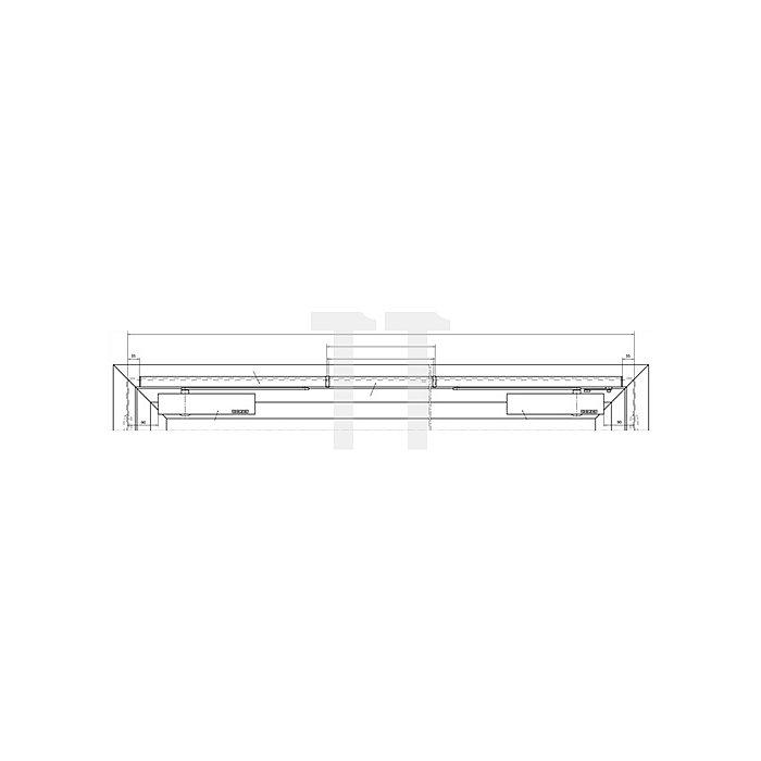 Gleitschiene E-ISM-BG silber passend f.TS 5000