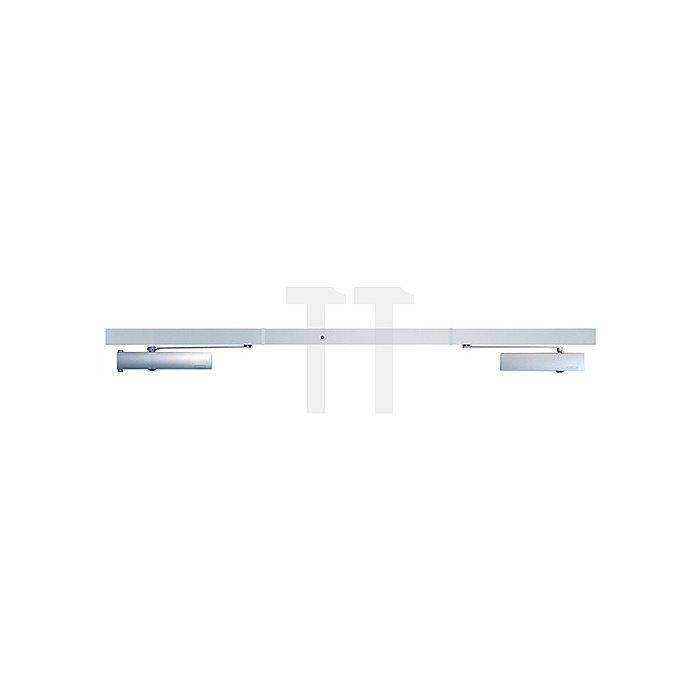 Gleitschiene ISM-EFS silber für 2-flügelige Türen