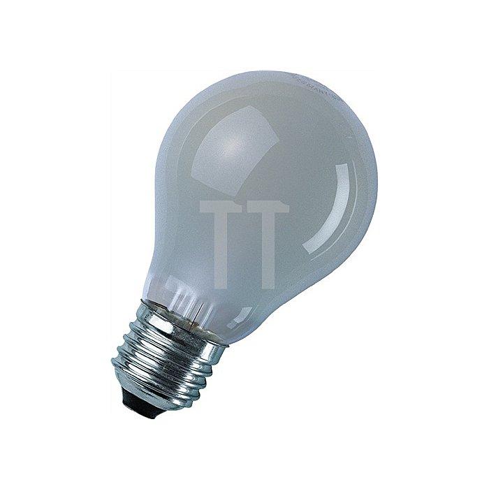 Glühlampe 100W E27 innen mattiert stoßfest OSRAM 10St./VE