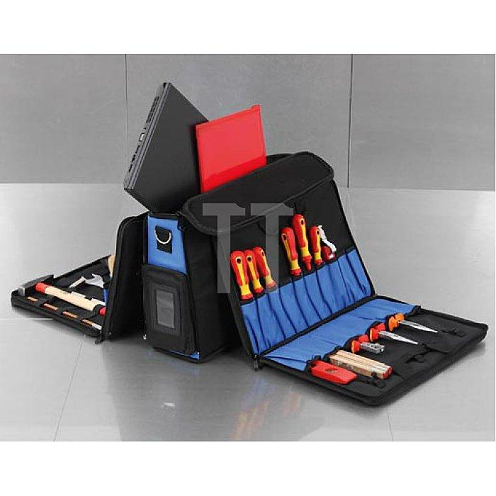 Große Techniker-Kombisofttasche für Laptop und Werkzeug Polytex 440x330x220mm