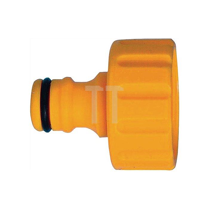 Hahnanschluss 1 Zoll Kunststoff
