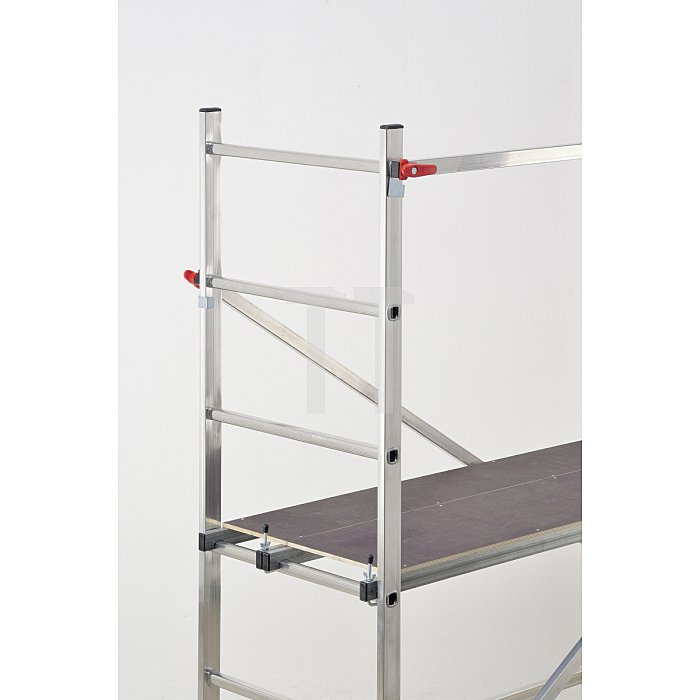 Hailo 1-2-3 300 Aluminium-Gerüst mit Ein-Hand-Schnellverschluss  9459-301