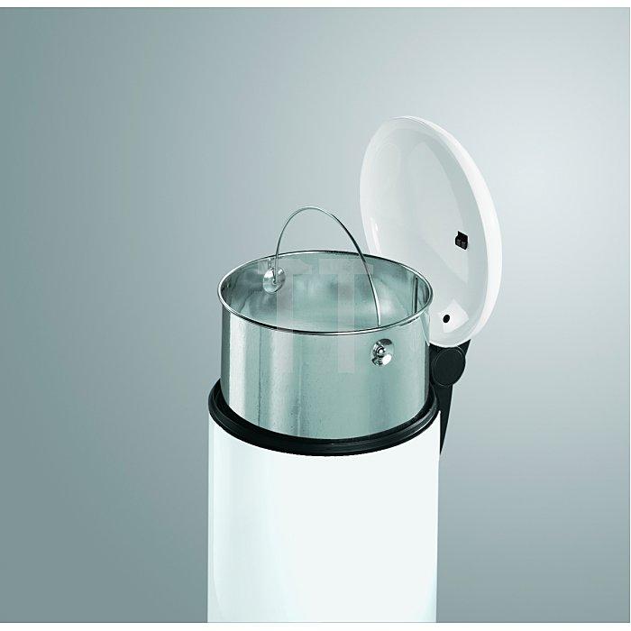 Hailo Abfallsammler Hailo TOPdesign14 Silber Inneneimer: verzinkt 0514-552
