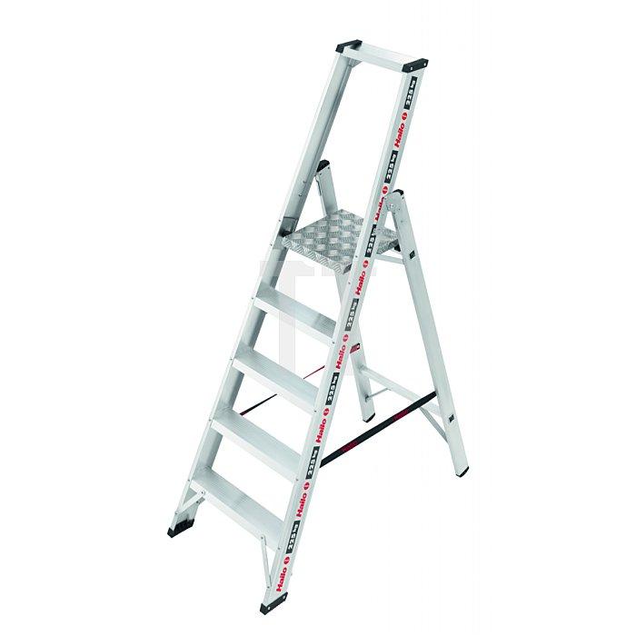 Hailo ChampionsLine P225 Alu-Profi-Plattformleiter 5 Stufen  8205-001