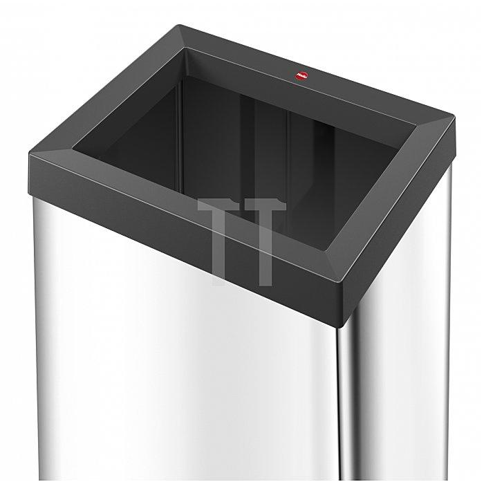 Hailo Großraum Abfallbox Big Box Quick 40 Edelstahl 0840-211