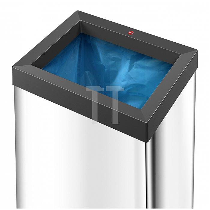 Hailo Großraum Abfallbox Big Box Quick 60 silber 0860-121