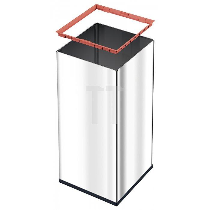 Hailo Großraum Abfallbox Big Box Quick 80 silber 0880-121