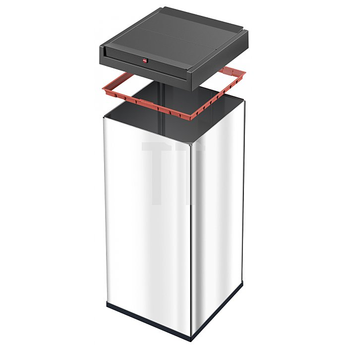 Hailo Großraum Abfallbox Big Box Swing 80 schwarz 0880-701